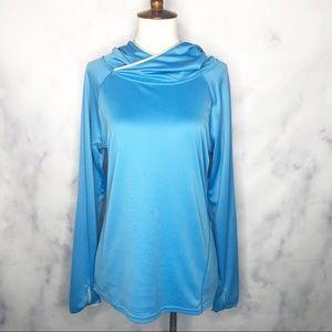 Patagonia | Blue Sunshade Hoody Pullover Shirt